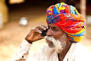 South Asia Mobile Phone Use - Photo #002